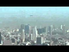 UFO  2016. Shocking UFO flight over Tokyo.UFO 2016