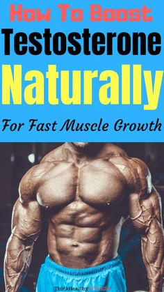 How To Boost Your Testosterone Naturally For Fast Muscle Growth Fast Muscle Growth, Build Muscle Fast, Boost Testosterone, Ab Workout Men, Workout Diet, Lower Ab Workouts, Gym Workouts, Lower Abs, High Intensity Interval Training