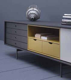 Téléchargez le catalogue et demandez les prix de Aura c8-2 By treku, buffet en bois de style contemporain design Angel Martí, Enrique Delamo, Collection aura