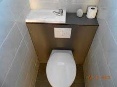 """Résultat de recherche d'images pour """"wc suspendu avec lave main"""""""