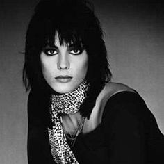 """""""I grew up in a world that told girls they couldn't play rock and roll... I think I was born strong-willed. That's not the kind of thing you can learn. The advantage is, you stick to what you believe in and rarely get pushed out of what you want to do."""" -Joan Jett"""