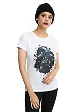 Star Wars Darth Vader Splatter Girls T-Shirt,