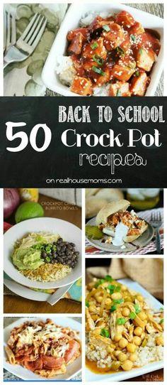 50 crock pot recipes