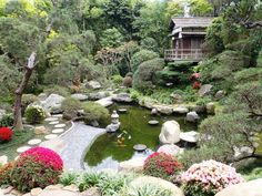 japanese gardens | ... One of the Rarest Private Japanese Gardens in the United States
