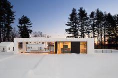 White House Modern All White Country House for the Weekends by LABhaus