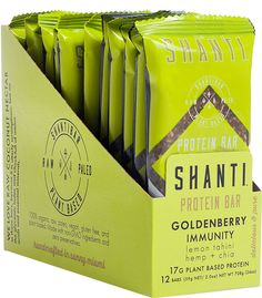 Shanti Bar Energy Bar Goldenberry Immunity