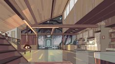 stevencrewniverse: A selection of Backgrounds from the Steven Universe episode: Winter Forecast Art Direction: Elle Michalka Design: Steven Sugar and Emily Walus Paint: Amanda Winterstein and Jasmin Lai I drew some of these too! Animation Background, Art Background, Steven Universe Background, Episode Backgrounds, Environment Concept Art, Environmental Design, Visual Development, Backrounds, Decoration