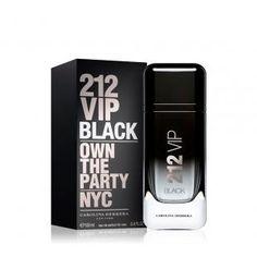03c3afbde9b Perfume Masculino Carolina Herrera 212 VIP Black EDP - 100ml