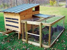 Do-it-yourself Chicken Coop