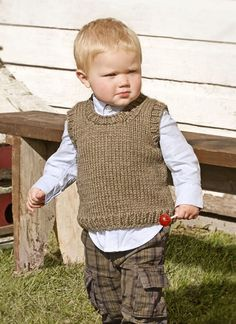 Knit from the top down, the unisex Jack & Jill Jumper has a nice wide neck opening that makes for easy on and off. Quick and cozy, this kid's classic is knit in bulky superwash wool and organic cotton Outer, with contrasting ribs trimming cuffs and hem. Pattern No. 201618