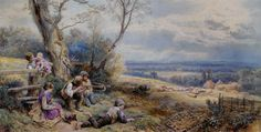 Myles Birket Foster, A Sure and Steady Aim