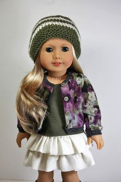 American Girl Doll Clothes-Sweater Sleeveless by sewurbandesigns
