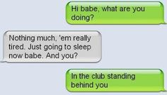 The Web Babbler: Funny Texts #85