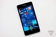 Microsoft Lumia 950 - Windows phone competitor to Samsung, now full as Microsoft brand. Improving on the previous models to perfection.