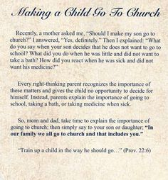 Making a child go to Church Spiritual Inspiration, Life Inspiration, Gospel Quotes, Train Up A Child, Lord Is My Strength, Give Me Jesus, Christian Memes, Christian Living, Inspirational Thoughts