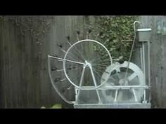 Perpetual motion water wheel - YouTube