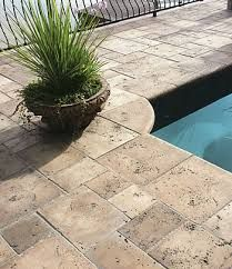 Outdoor Travertine Tile Google Search Pool Remodel Decks