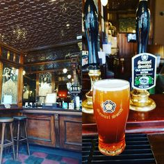#oldbrewerybitter from #samuelsmiths at the #Windsor castle in Victoria. A good pint but the real winner is this original Victorian boozer. Stunning pub. #ale #adventuresinale #oldpubs of  #london