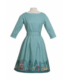 Beatrice dress London Sea Blue/ Turquoise  Cutest Dress Ever!!! Poppychildren.co.uk (but have women's dresses too!)
