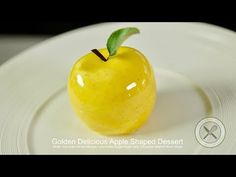 Golden Delicious Apple Shaped Dessert – Bruno Albouze – THE REAL DEAL - YouTube