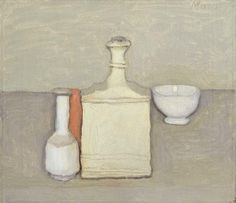Giorgio Morandi    (Italy 1890–1964)    Title      Still life   Alternative…