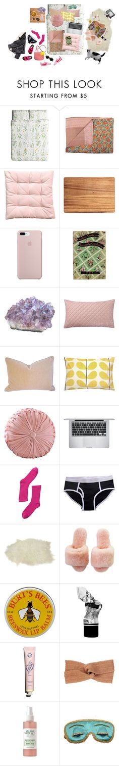 """""""hiding out"""" by caylor ❤ liked on Polyvore featuring interior, interiors, interior design, home, home decor, interior decorating, ETUÍ, Pottery Barn, Kravet and Orla Kiely"""