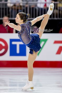 Marianne Rioux Ouellet Figure Skating Outfits, Figure Skating Costumes, Ice Dresses, Ice Skating Dresses, Skates, Skate Wear, Beautiful Figure, Dance Leotards, Diy Dress