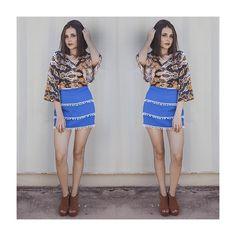 Que tal ousar num mix de cores vivas + estampa desejo? ❤️ #fashion #love #moda #style #itgirl  #lojabySiS  www.lojabysis.com.br