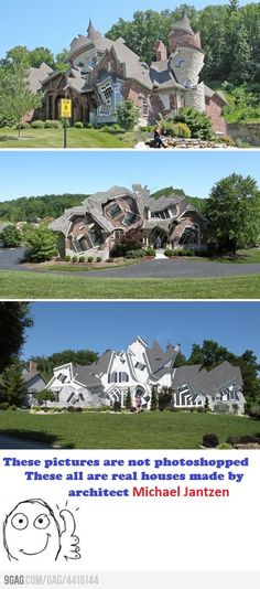 wow!  There once was a crooked man who built a crooked house....