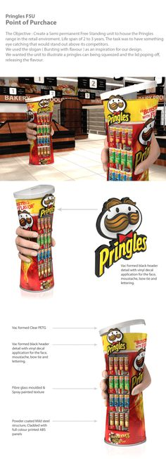353 best Exhibitioner images on Pinterest   Exhibitions  Set design     Pringles FSU   Standees   Product Stands   point of purchase at  thesellingpoints com