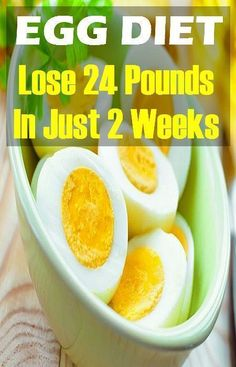 THE BOILED EGGS DIET: Lose 20 kg In 2 Weeks!