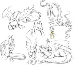 Pin by bryson bregant on drawing in 2019 dessin de dragon, d Animal Sketches, Animal Drawings, Drawing Sketches, Art Drawings, Dragon Drawings, Httyd Dragons, Cute Dragons, Toothless Drawing, Dragon Sketch