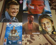 David Beckham - Magazine Posters Clippings Collection