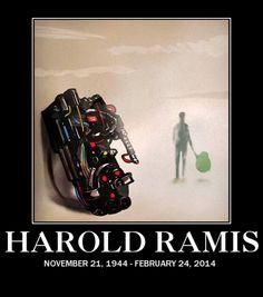 """Harold """"Egon"""" Ramis"""
