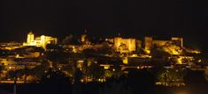 Silves Cathedral and Castle from a distance. Both buildings are originated from moorish period Moorish, Distance, New York Skyline, Period, Cathedral, Buildings, Castle, Architecture, Painting