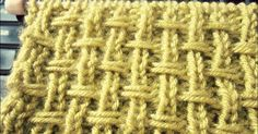 The post with detailed instructions will help you learn how to knit the Broken Rib Slip. Simple rib slip stitches in this pattern create a very interesting effect - knit texture looks a lot like burlap weave