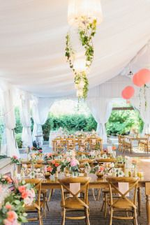 Colorful Summer Wedding at the Miller Lash House | Photos - Style Me Pretty