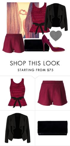 """""""Untitled #388"""" by sara-bitch1 ❤ liked on Polyvore featuring White House Black Market, Forte Forte, OPUS Fashion and Charlotte Olympia"""