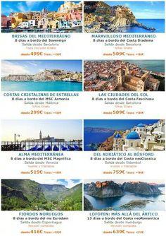 Cruceros al mejor precio en www.ofertravel.es