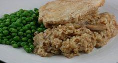 Crockpot Chicken and Brown Rice Casserole