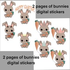 Excited to share this item from my shop: Bunnies digital stickers goodnotes stickers precroppped stickers png stickers rabbit carrot sticker printable stickers Kids Room Wallpaper, Gold Wedding Decorations, Printable Stickers, Handmade Items, Handmade Gifts, Marketing And Advertising, Saddle Bags, Bunny, Teddy Bear