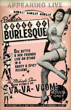 Bettie Page House of Burlesque