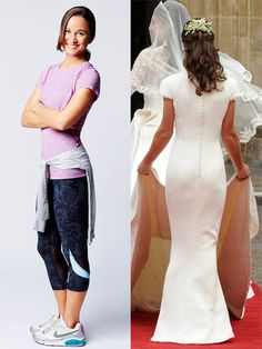 Pippa Middleton has revealed the four key exercises that she does 3x a week to keep her body (and booty!) toned.