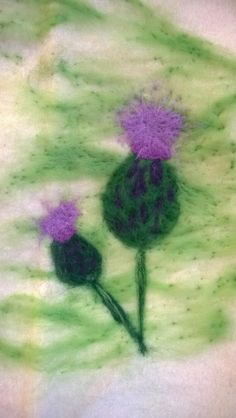 I'm thinking of getting cards printed of my eco friendly needle felting. What do you think? #EcoCreateHour