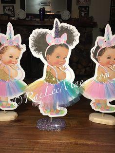 Unicorn Centerpiece, Baby Shower Centerpieces, Baby Shower Decorations, Unicorn Birthday Parties, Unicorn Party, Happy Birthday, Birthday Ideas, Unicorn Princess, Unicorn Baby Shower
