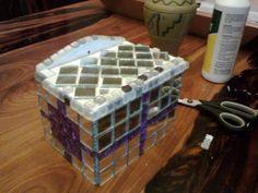 mosaik jewelery box