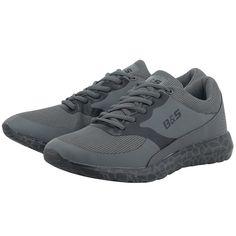 Για τις sport casual εμφανίσεις σας, ανδρικάαθλητικά παπούτσια low cutτου ελληνικού brandBitter & Sweet, αποτελούν ιδανική και στυλάτη επιλογή για την δραστήρια καθημερινότητά σας.       Συνθετικό δέρμα και ύφασμα          Εσωτερική επένδυση από ύφασμα               Λαστιχένια σόλα          Κορδόνια για εύκολη εφαρμογή     Μαλακός πάτος Bitter, Dark Grey, All Black Sneakers, Sweet, Sporty Chic, Products, Fashion, Candy, Moda