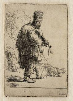 Mijn favoriete Rembrandt in Teylers Museum: De blinde violist (B138)