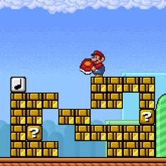 Yep i remember this part Super Mario Bros, Super Mario World, Mario Bros 3, Super Mario Kunst, Super Mario All Stars, Super Mario Brothers, Mario And Luigi, Super Nintendo, Super Smash Bros