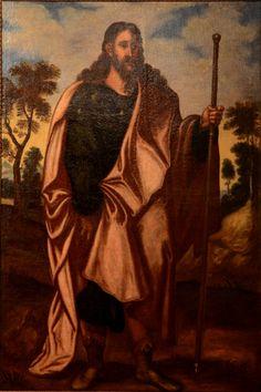 El apóstol Santiago Peregrino , Museo diocesano de la Ciudad Real